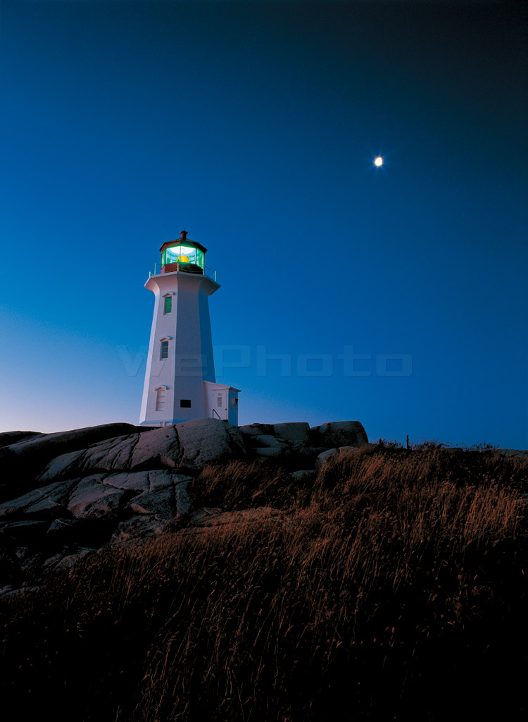BLUE MOMENT /Peggy's Cove PM10:15(230)