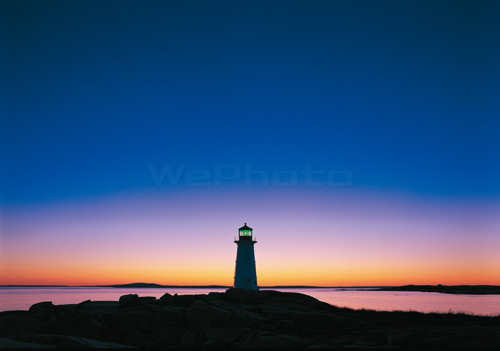 BLUE MOMENT /Peggy's Cove PM10:00(227)